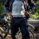 Moto-Skiveez Padded Adventure Motorcycle Shorts