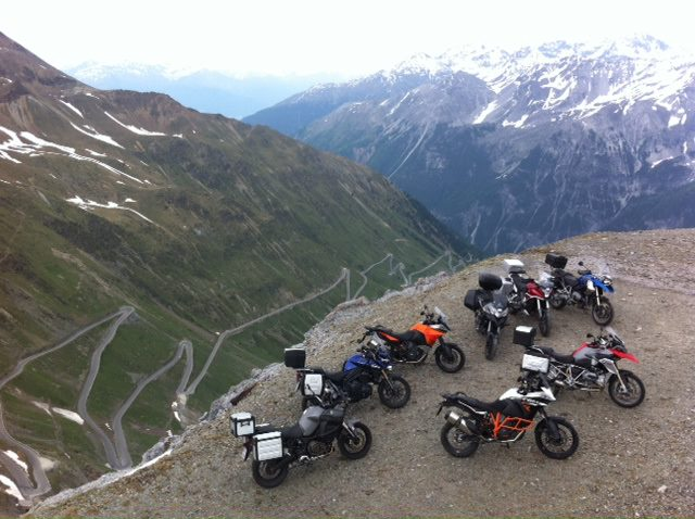 The Ultimate Alps Adventure Shootout won by the 2013 BMW R1200GS