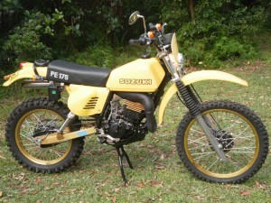Early Bare Bones Dual Sport