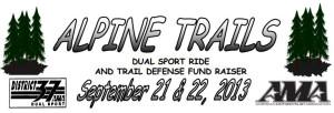 Alpine Trails Dual Sport Ride