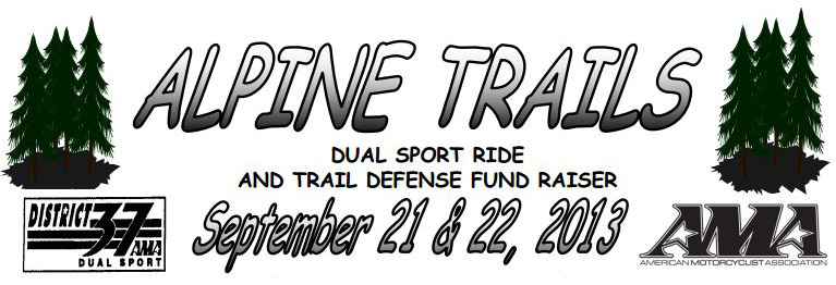 Alpine Trails Dual Sport Ride