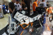 KTM 990 Adventure Baja at the Progressive International Motorcycle Show