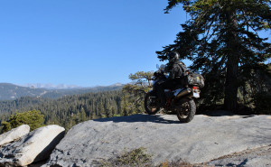 Enjoying the view up above in Sequoia National Forest