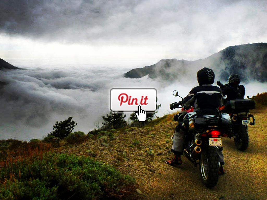 Pinning your favorite adventure bike photos