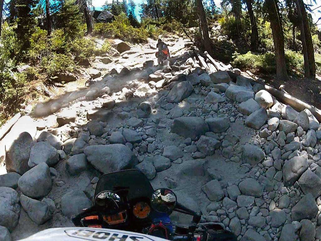 Riding the Rubicon Trail on KTM 990 Adventures