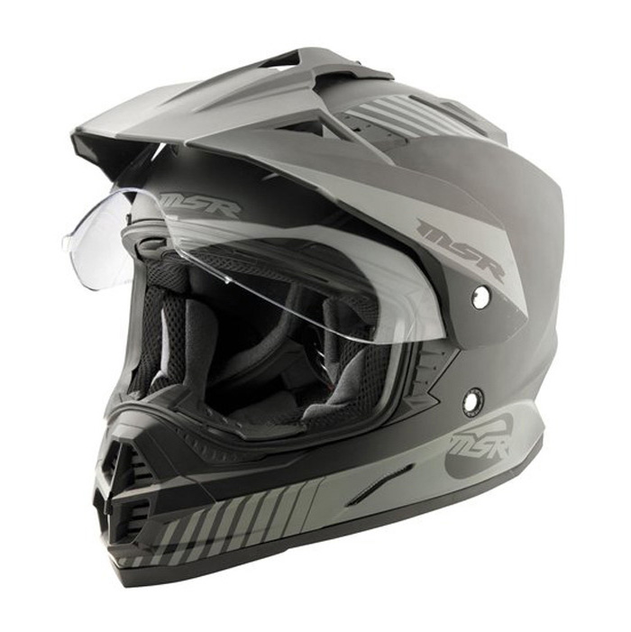 MSR Xpedition Adventure Dual Sport Helmet