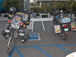 World Riders at the Progressive Motorcycle Show of Long Beach
