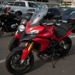 Ducati Multistrada at the Long Beach Progressive Motorcycle Show