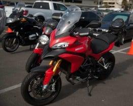 Ducati Multistrada at the Long Beach Progressive Motorcycle Show