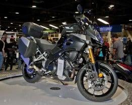 Suzuki DL1000 V-Strom Adventure at the Long Beach Motorcycle Show