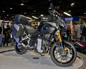 Suzuki DL1000 V-Strom Adventure at the Long Beach Motorcycle Show