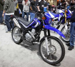 Yamaha XT 250 at the Progressive Motorcycle Show of Longbeach