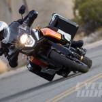2014 KTM 1190 Adventure action