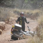 Austin Vince on the Arizona Backcountry Discovery Route