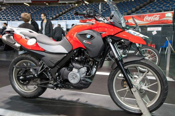 BMW G650GS Adventure Motorcycle for Short Riders