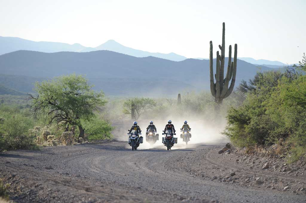 Riders on the Arizona Backcountry Discovery Route