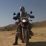 The BMW R1200GS ready to ride