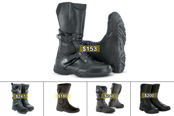 Dual Sport Boots for less than $250