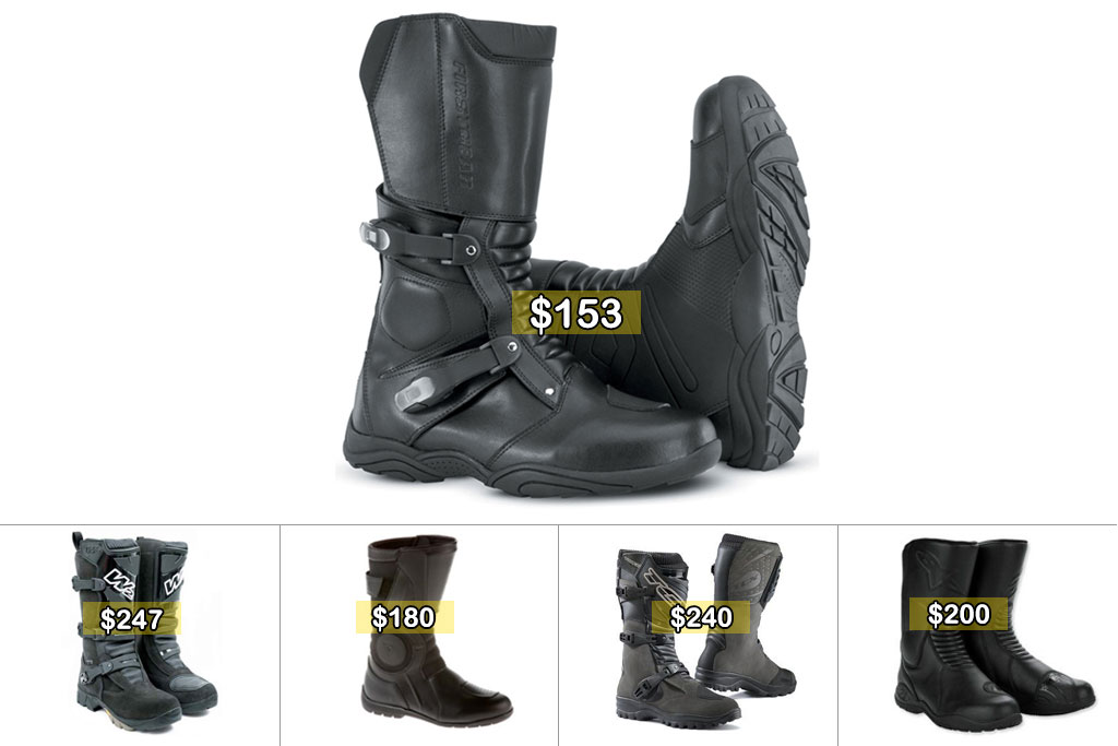 Top Dual Sport Boots For Less Than $250 - ADV Pulse