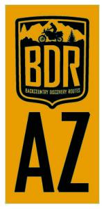 Arizona Backcountry Discovery Route Sticker