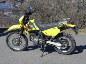 Suzuki DR650SE Low Seat Height Motorcycle