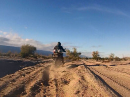 Following a BMW F800GS