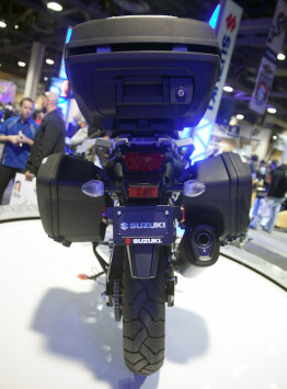 Suzuki V-Strom Integrated Luggage