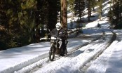 Know how to keep warm on a motorcycle when cold weather hits unexpectedly.