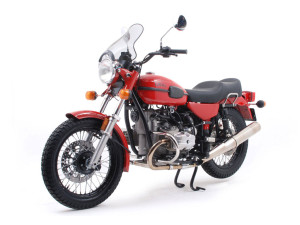Ural Solo sT Red Windscreen