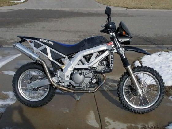 SV650 Adventure Bike