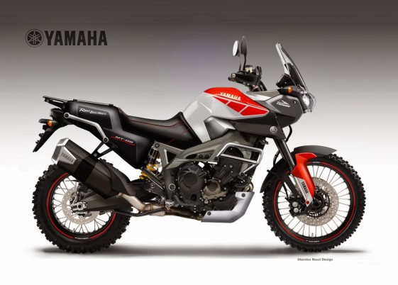 Yamaha MT-09 Tenere Triple Worldcrosser Concept Bike
