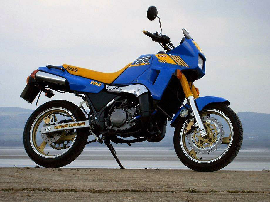 Throwback thursday 1988 yamaha tdr250 adv pulse for Yamaha sport motorcycles