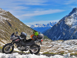 European Roadtrip Suzuki XF650 Freewind
