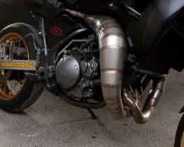 Yamaha TDR250 cross-over expansion chambers