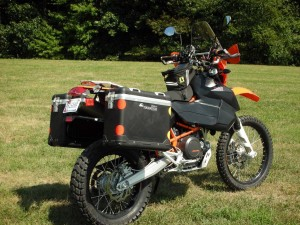 KTM 690 Adventure Bike