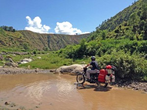 Riding Kathmandu Water Crossing