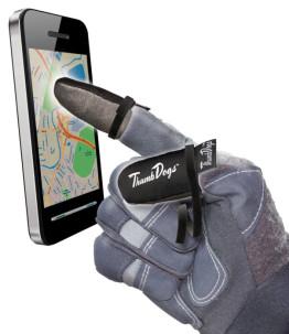 Thumbdogs touchscreen