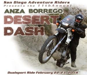 Anza Borrego Desert Dash 2014 Adventure Tour