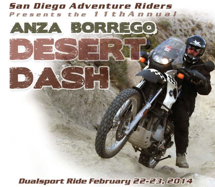 Anza Borrego Desert Dash 2014 Adventure Tour