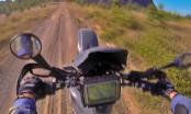 Suzuki DR650SE Wheelie