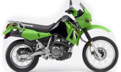 Kawasaki KLR650 Adventure Bike