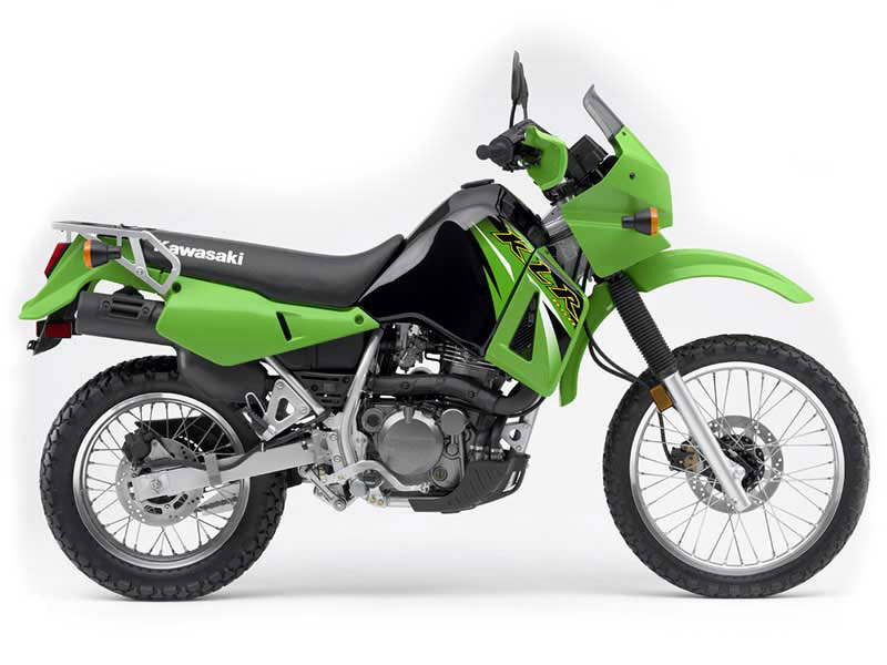 Kawasaki KLR650 Adventure Bike