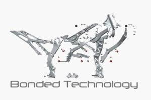 Bond-Lite bonded aluminum frame