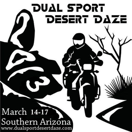 Desert Daze Dual Sport or Adventure Ride 2014