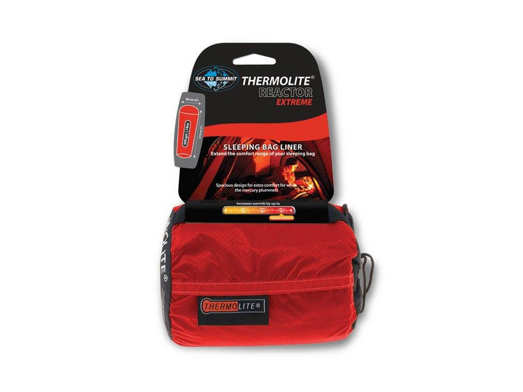 Seat to Summit Reactor Extreme Thermolite Sleeping Bag Liner
