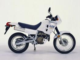 White Honda NX250