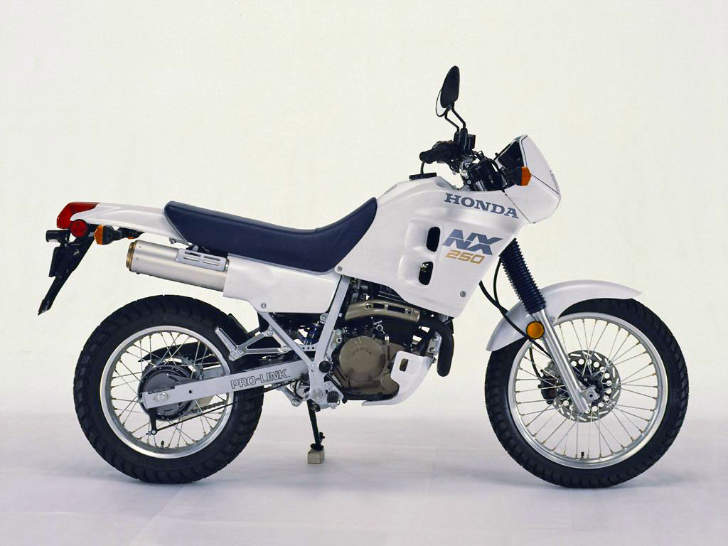 Throwback Thursday: 1988 Honda NX250 - ADV Pulse