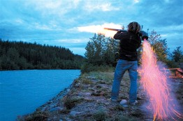 Alaska adventure tour camping entertainment