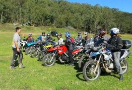 BMW Motorrad Australia Off-Road Training