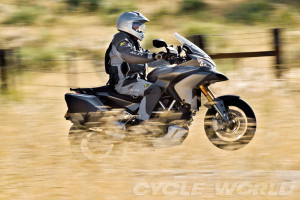 Ducati Multistrada 1200 the fastest adventure motorcycle